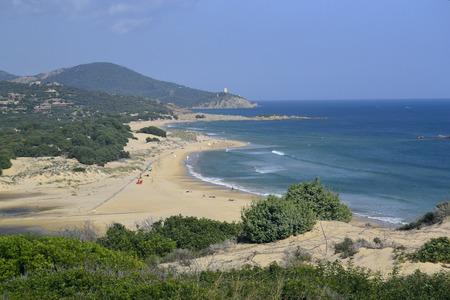 Beach Su Giudeu, Chia