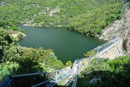 Staudamm am Rio Coxinas