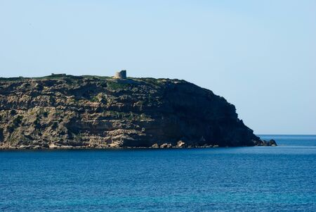 View of the Cape Mannu tower