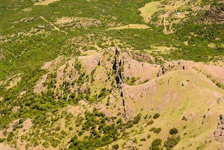 Panorama from Monte Arcuentu