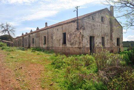 View of Asproni mining village