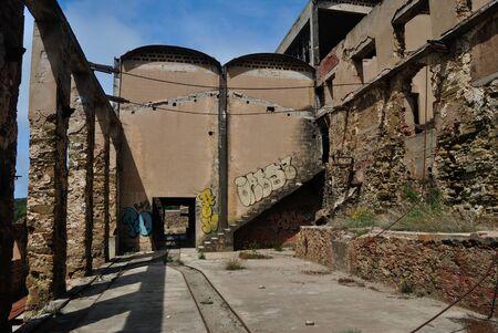 Abandoned mine of Seddas Moddizzis Zdjęcie Seryjne