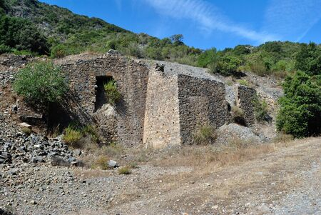 Abandoned mine of Sa Duchessa de Mesu