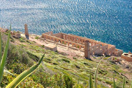 Abandoned mine of Nebida