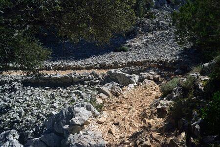 Path to Cala Goloritzè