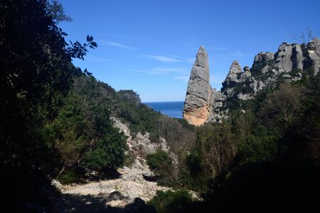 View of Punta Caroddi or Goloritzè