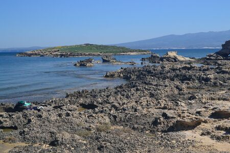 Coast of Su Pallosu