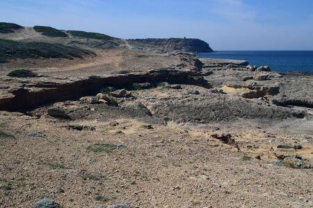 Coast of Su Pallosu