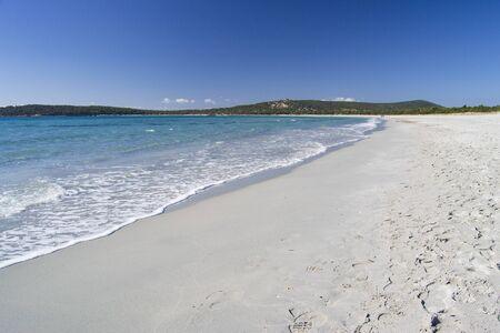 View of Porto Pino beach