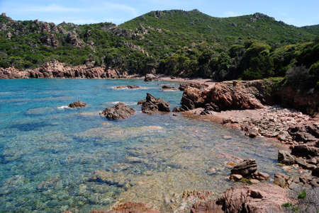 View of Porto Leccio beach