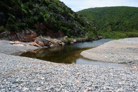 View of Cala Tinnari beach