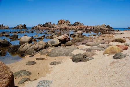 View of Canneddi beach
