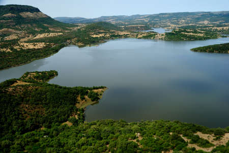 View of the lake Alto Temo