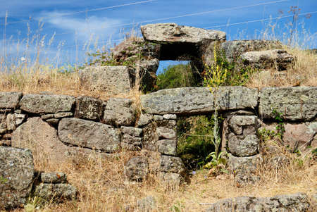 View of Giants Tomb Aidu