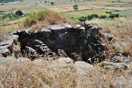 View of Nuraghe Corruoe