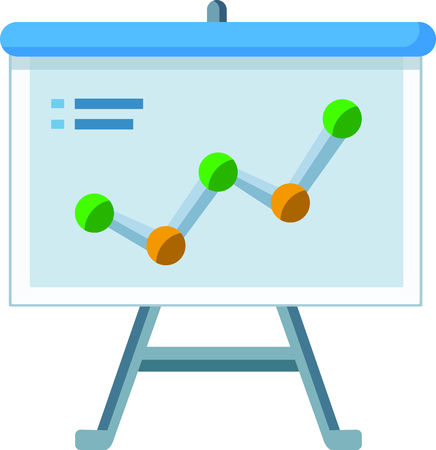 Busines strategy flat vector. can be used for topics Marketing. workflow Vector Ilustrace