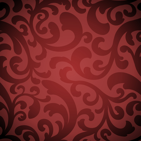 An elegant red-toned seamless repeating tile pattern.
