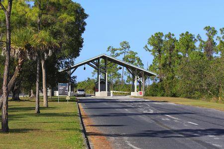 Entrance of the Florida Everglades Stock Photo - 4012087
