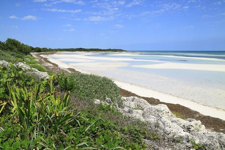 Overview of Bahia Honda Key In the Florida Keys