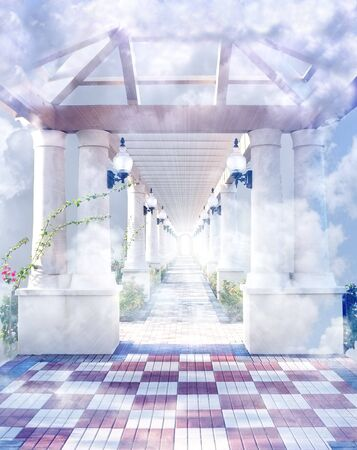hereafter: The gateway to heaven in the clouds.