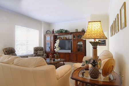 family  room: Overview of a beautiful classic family room  in a private residence