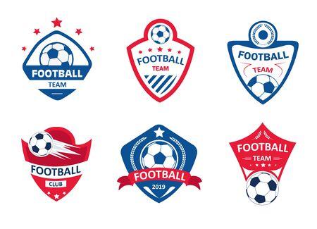 Set of soccer or football club