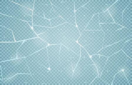 Ice surface texture Ilustração