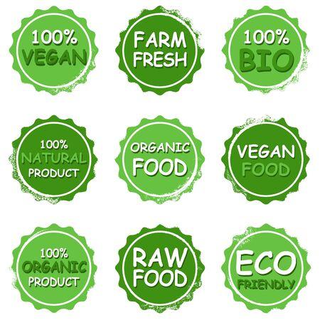 Organic vegan food Foto de archivo - 134591124