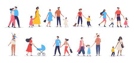 Bundle of walking families