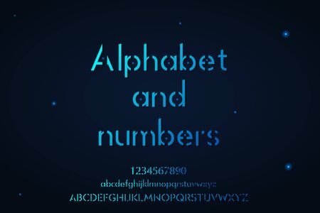 Complete lower and upper case Alphabet and Numbers