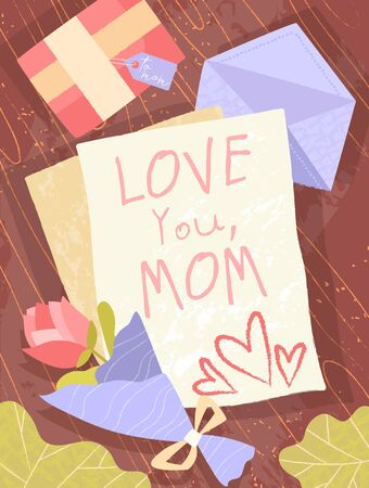 Childs letter to a Mother - Love You Mom