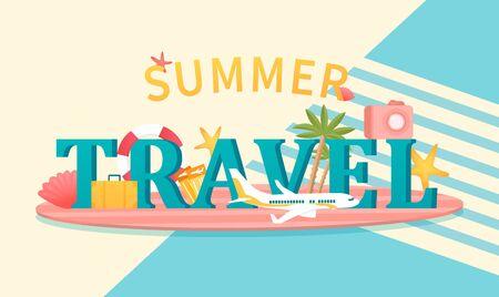Summer holidays concept