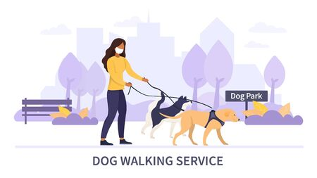 Dog Walking Service during the Covid-19 pandemic