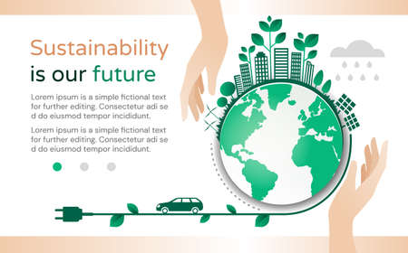 Sustainability Is Our Future design template