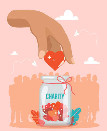 Support and donations for Charity