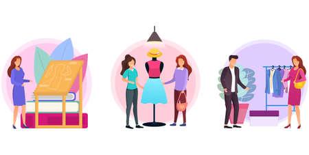 Fashion design concept