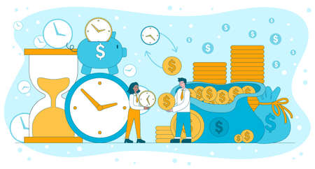 Time Is Money viability and efficiency concept