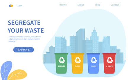 Waste sorting city - Segregate Your Waste