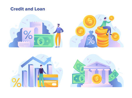 Credit and loan facilities for financial goals