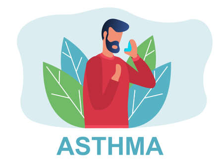 Different types of diseases asthma