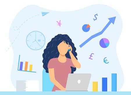 Financial advice concept