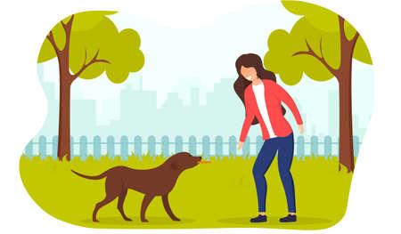Dog Handler training and development concept