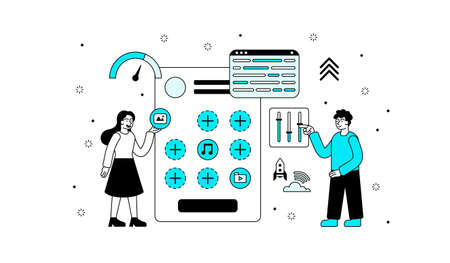 Creating mobile application