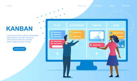 Agile software development and Kanban