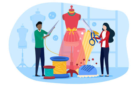 Concept of Sewing Factory