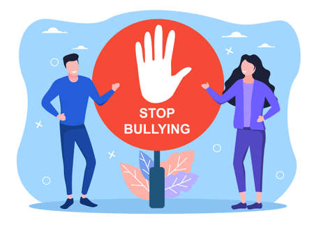 Concept of stop bullying