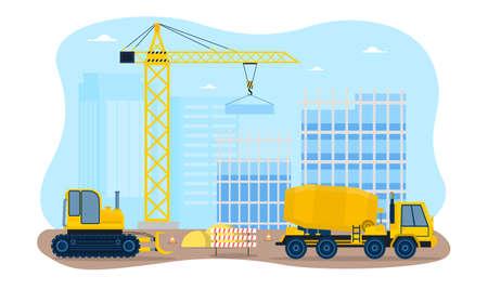 Building a houses premises process