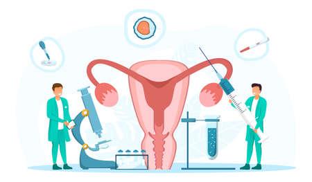 In vitro fertilization Illusztráció