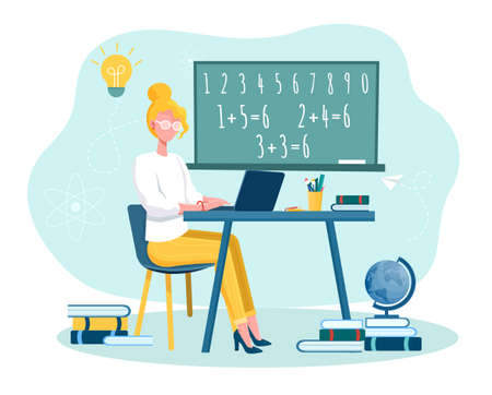 Online training courses and distance education