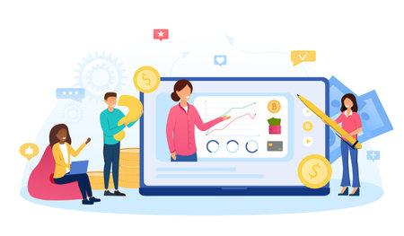 Online course of increasing money